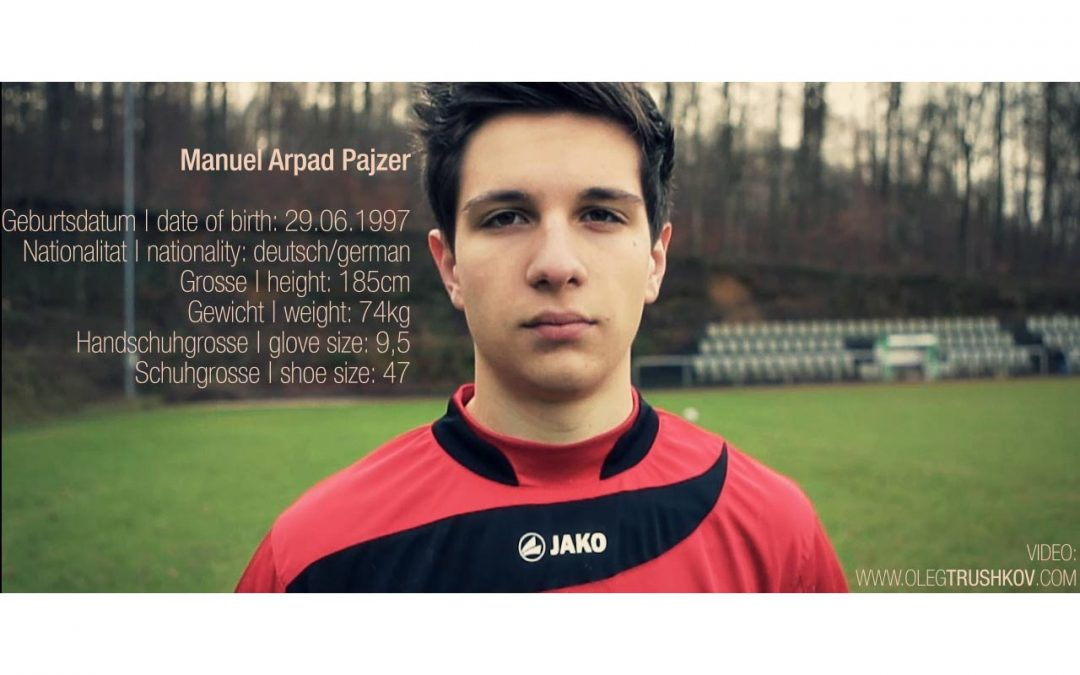 Manuel Pajzer | goalkeeper promo video