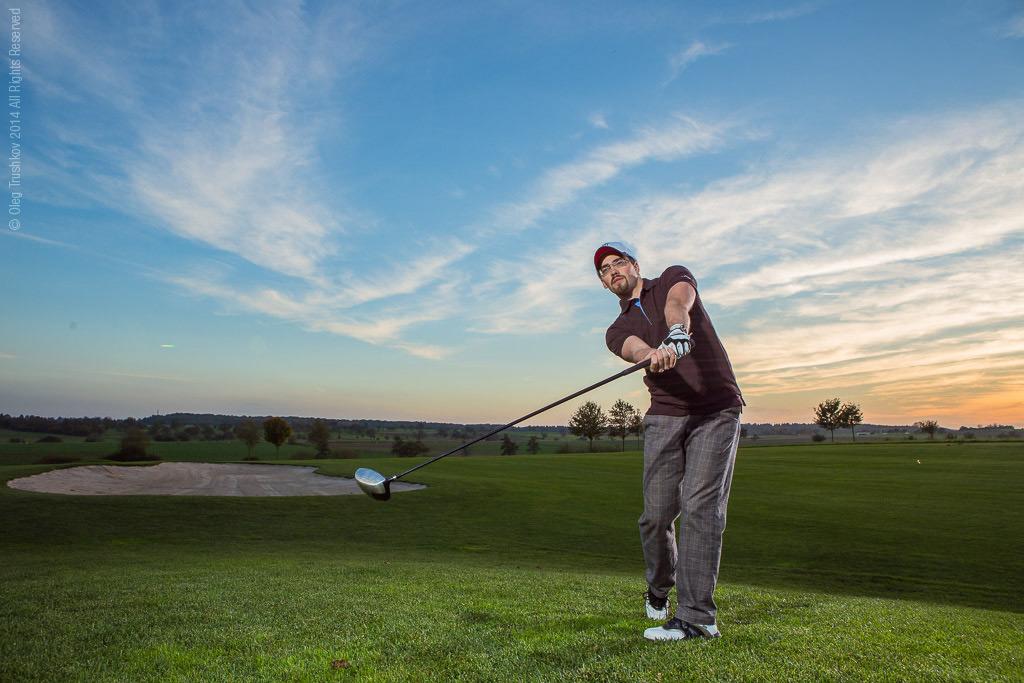 golf club advertising oleg trushkov commercial photographer
