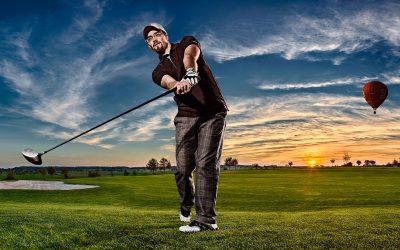Golf club advertising