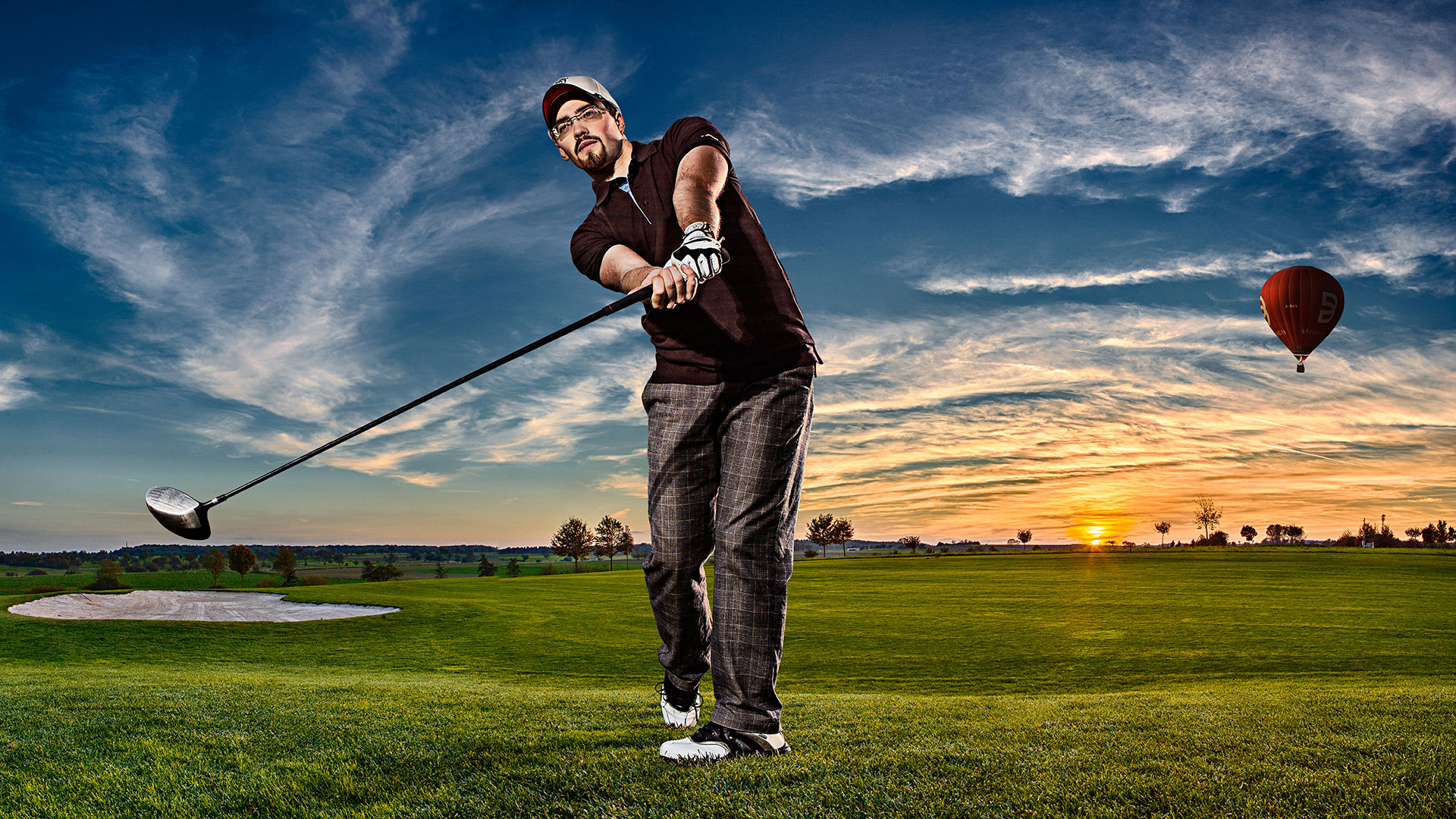Advertising sports photographer Oleg Trushkov - Golf Club