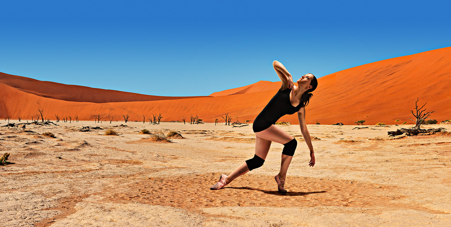 Advertising sports photographer Oleg Trushkov - Desert Dancer