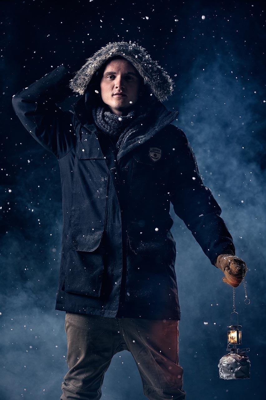 Advertising sports photographer Oleg Trushkov - Blizzard