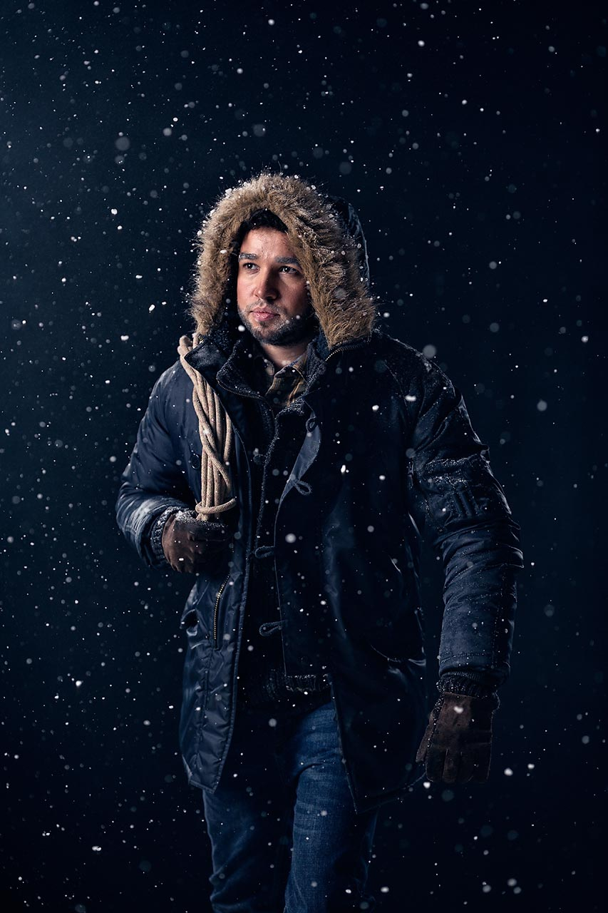 Advertising sports photographer Oleg Trushkov - Blizzard
