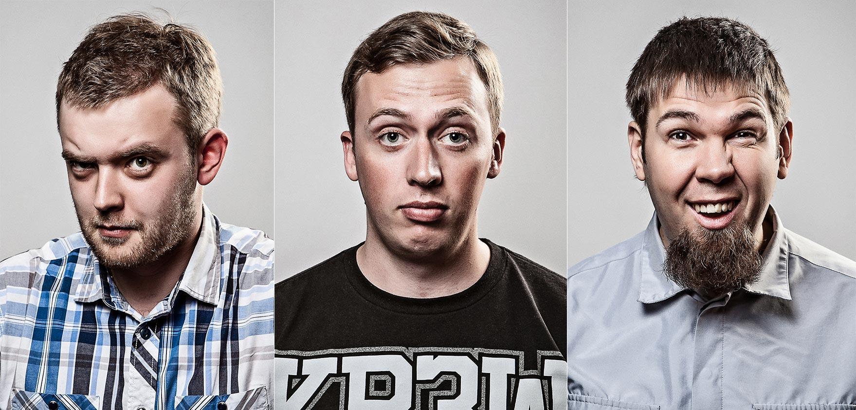 Advertising sports photographer Oleg Trushkov - IT Crowd