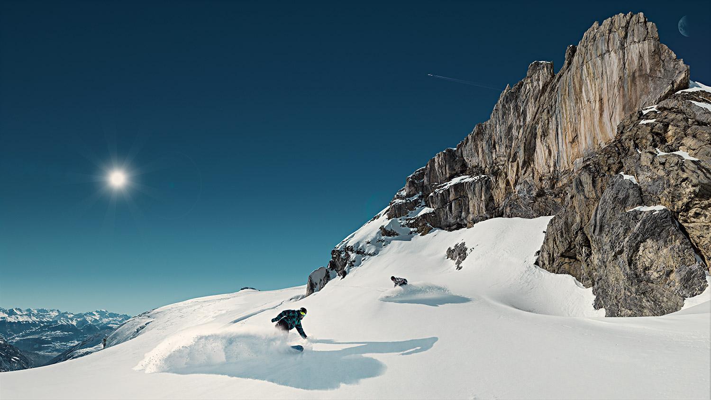 Advertising sports photographer Oleg Trushkov - Snowboarding